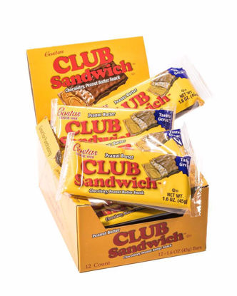Box of Club Sandwich bars