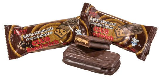 Triple Chocolate Peanut Butter Club